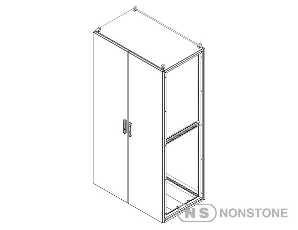 ME Series Modular Enclosures Pageage 1 Double Bay, IP55