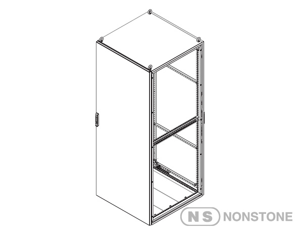 MEDA Series Modular Enclosures Package 2 Dual Access Singale Bay, IP55