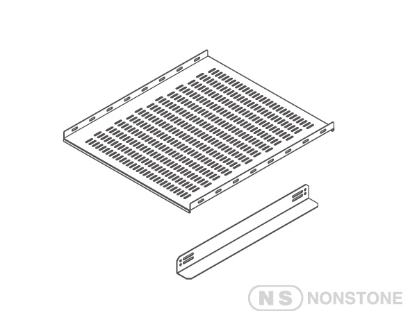 "ME Series 19"" Rack Accessories 19""Rack Fixed Shelf"