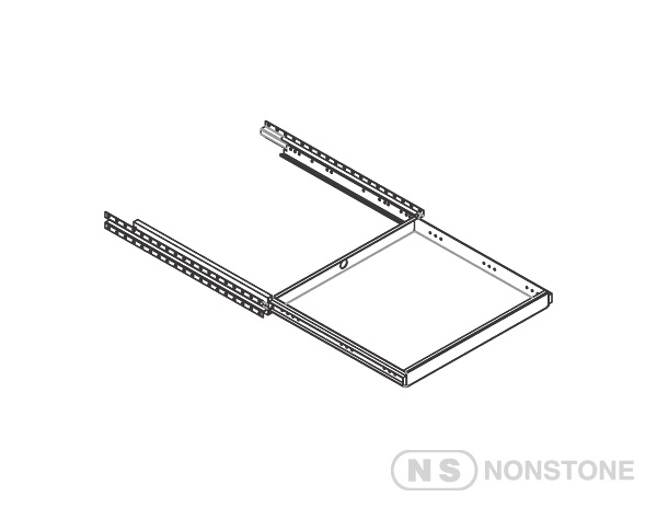 "ME Series 19""Rack Accessories 19""Rack Pull-Out Shelf"