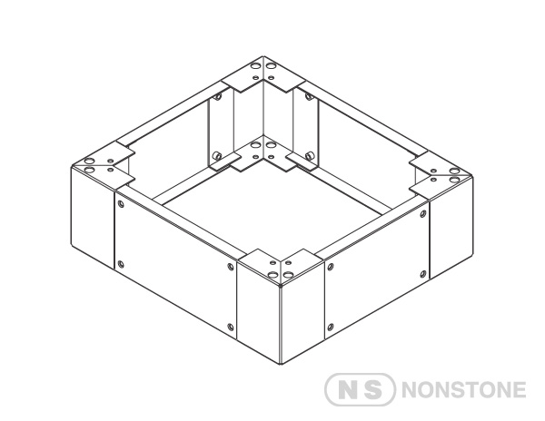 ME Series Accessories 200mm Base/Plinth